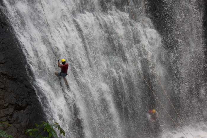 waterfall rappelling, ultralight flying and more at Coorg