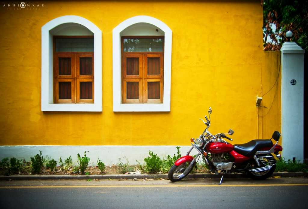 Enjoy French architecture at Pondicherry