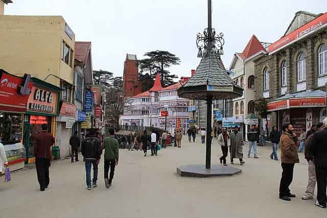 The Scandal Point Shimla