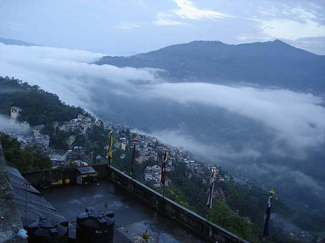 honeymoon in Gangtok
