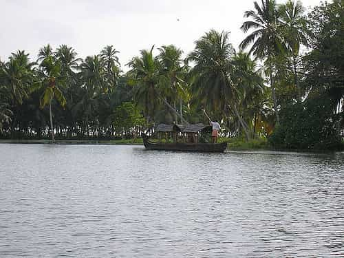 Thiruvallom Backwaters kerala