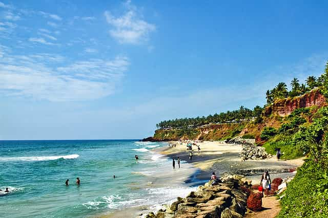 honeymoon in Varkala Beach