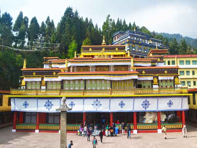 largest Monastery in Kalimpong