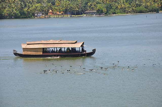 Asthamudi Lake kerala