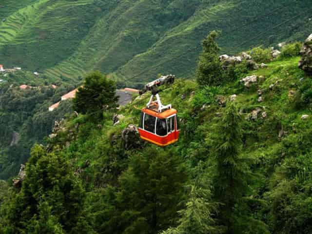 Mussoorie - top 10 hill stations in North India
